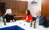 Председатель Отдела внешних церковных связей встретился с представителем Парламента Сирии