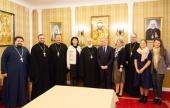 В Минске состоялась встреча Патриаршего экзарха всея Беларуси с представителями Фонда народонаселения ООН