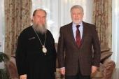 Состоялась встреча главы Казахстанского митрополичьего округа с Чрезвычайным и Полномочным послом России в Республике Казахстан