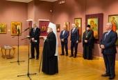 Митрополит Минский Павел принял участие в открытии выставки икон XVII века в Национальном художественном музее Республики Беларусь