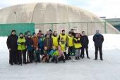 Турнир по хоккею в валенках среди воскресных школ на призы ВРНС прошел в Архангельске