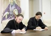 Синодальная библиотека Московского Патриархата заключила договор о сотрудничестве с библиотекой Санкт-Петербургской духовной академии