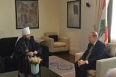Председатель ОВЦС встретился с Президентом Ливана