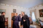 Управляющий делами Украинской Православной Церкви встретился с настоятелями захваченных на Волыни храмов