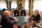 Блаженнейший митрополит Онуфрий и посол Нидерландов обсудили религиозную ситуацию на Украине