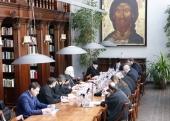 Состоялось заседание комиссии Межсоборного присутствия по церковному праву в обновленном составе