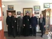 Делегация Смоленской епархии посетила Институт Русского Афона