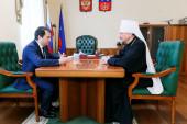 Глава Мурманской митрополии обсудил с и.о. губернатора Мурманской области проблему оттока людей из региона