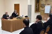 Председатель Синодального отдела по благотворительности прочитал в Вильнюсе курс лекций о пастырском и социальном служении