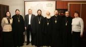 В Московском епархиальном управлении состоялось заседание Управляющего совета Благотворительного фонда по восстановлению порушенных святынь