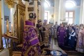 Представители Поместных Православных Церквей поздравили митрополита Волоколамского Илариона с 10-летием пребывания на посту председателя ОВЦС