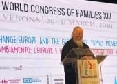 Председатель Патриаршей комиссии по вопросам семьи, защиты материнства и детства выступил на XIII Всемирном конгрессе семей