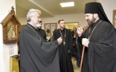 В Гатчине открылась выставка, посвященная 70-летию преставления преподобного Серафима Вырицкого