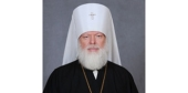 Патриаршее поздравление митрополиту Евсевию (Саввину) с 35-летием архиерейского служения