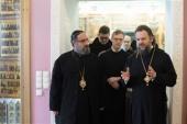 Иерарх Антиохийского Патриархата посетил Русскую Православную Церковь