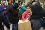 Межрелигиозная делегация из России передала гуманитарную помощь жителям сирийской столицы