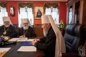 Блаженнейший митрополит Онуфрий возглавил первое в 2019 году заседание Синода Украинской Православной Церкви