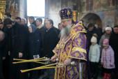 В день памяти прп. Серафима Вырицкого глава Екатеринбургской митрополии совершил Литургию в Казанском храме Рыбинска
