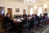Состоялось очередное заседание Научно-редакционного совета по изданию документов Священного Собора 1917-1918 гг.
