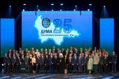 Глава Ханты-Мансийской митрополии принял участие в праздновании 25-летия Думы Югры
