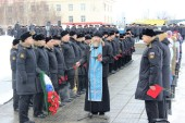 В тридцатую годовщину гибели АПЛ «Комсомолец» представители Североморской епархии приняли участие в траурных мероприятиях
