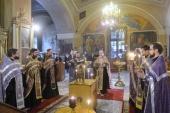 Сотрудники Отдела внешних церковных связей почтили память многолетнего сотрудника ОВЦС А.С. Буевского
