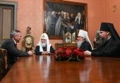 Состоялась встреча Святейшего Патриарха Кирилла с губернатором Тюменской области и главой Тобольской митрополии