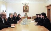 Председатель ОВЦС встретился с экс-президентом Германии