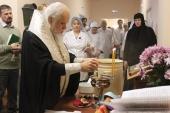 В московской больнице святителя Алексия открылось новое паллиативное отделение для тяжелобольных людей