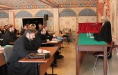 Председатель Синодального отдела по благотворительности прочитал лекцию на курсах повышения квалификации московских священнослужителей