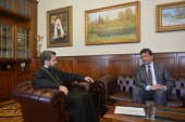 Подписано соглашение о сотрудничестве между Общецерковной аспирантурой и докторантурой и Севастопольским государственным университетом