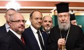 Проблема защиты прав христиан обсуждалась на встрече Блаженнейшего Архиепископа Кипрского Хризостома II с президентом Межпарламентской ассамблеи Православия