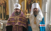 Иеромонах Стефан (Привалов), избранный епископом Клинским, возведен в сан архимандрита