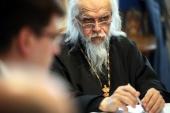 Председатель Синодального отдела по благотворительности встретился с депутатами Государственной Думы