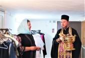 При поддержке Синодального отдела по благотворительности в Ставропольской епархии открылся склад гуманитарной помощи