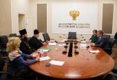 Председатель Синодального комитета по взаимодействию с казачеством встретился с заместителем министра культуры Российской Федерации