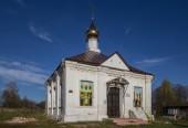 В Александровской епархии совершен акт вандализма в отношении Свято-Троицкого храма в д. Костино