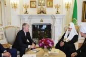 Состоялась встреча Святейшего Патриарха Кирилла с министром спорта РФ П.А. Колобковым