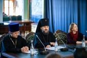В Московской духовной академии прошел круглый стол Союза журналистов Подмосковья