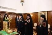 Слово архимандрита Стефана (Привалова) при наречении во епископа Клинского, викария Патриарха Московского и всея Руси