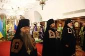 Состоялось наречение архимандрита Стефана (Привалова) во епископа Клинского
