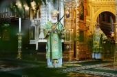 В праздник Входа Господня в Иерусалим Предстоятель Русской Церкви совершил Литургию в Храме Христа Спасителя и возглавил хиротонию архимандрита Стефана (Привалова) во епископа Клинского