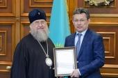 Состоялась встреча главы Казахстанского митрополичьего округа с акимом столицы Республики Казахстан