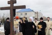 Глава Казахстанского митрополичьего округа совершил Литургию на месте подвигов новомучениц Акмолинских