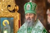 Блаженнейший митрополит Киевский Онуфрий поздравил В.А. Зеленского с избранием на пост Президента Украины
