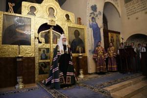 Слово Святейшего Патриарха Кирилла в канун Великого Четвертка после богослужения в Марфо-Мариинской обители в Москве