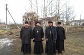 Комиссия Синодального отдела по монастырям и монашеству посетила монастыри Вологодской митрополии