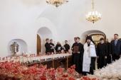 Председатель Синодального отдела по взаимодействию с Вооруженными силами освятил куличи для российских военнослужащих в Сирии