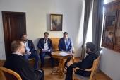 Митрополит Волоколамский Иларион встретился с руководителем Департамента культурного наследия города Москвы