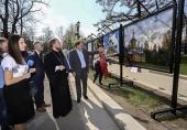 В Галерее под открытым небом в центре Москвы открылась фотовыставка фестиваля «Архитектура русского храма»